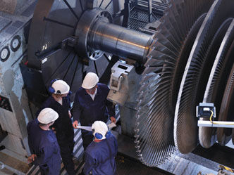 Gas And Steam Turbine Bearings For Thrust And Journal Use